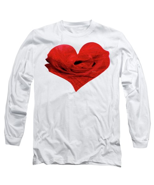 Heart Sketch Long Sleeve T-Shirt