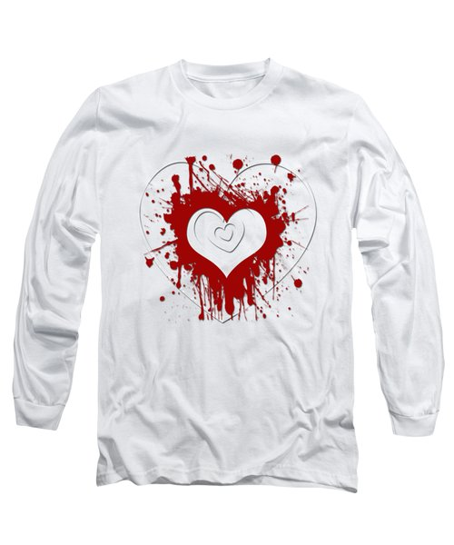 Hearts Graphic 1 Long Sleeve T-Shirt