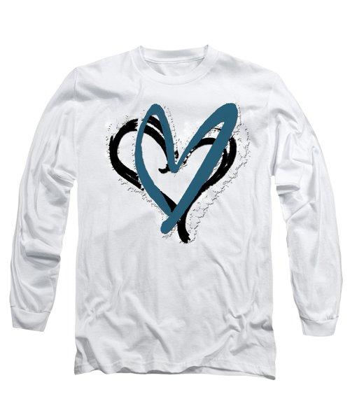 Hearts Graphic 8 Long Sleeve T-Shirt
