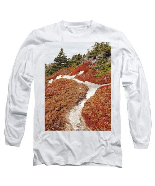 Heather Run Long Sleeve T-Shirt