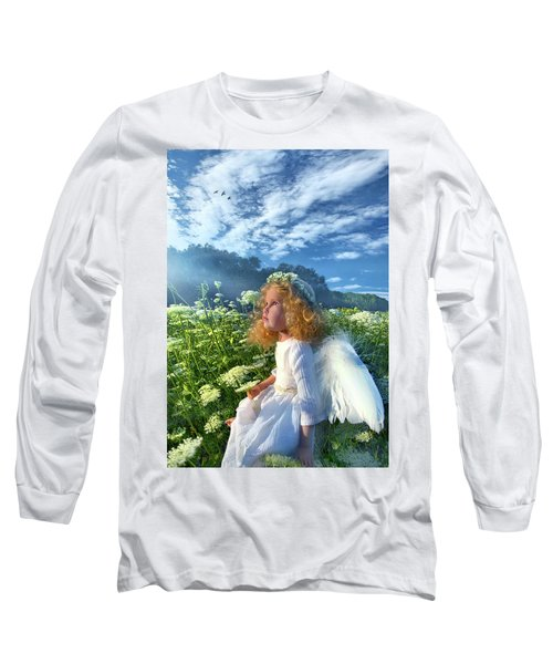 Long Sleeve T-Shirt featuring the photograph Heaven Sent by Phil Koch