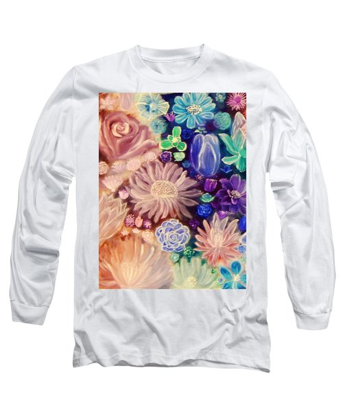 Heavenly Garden Long Sleeve T-Shirt by Samantha Thome
