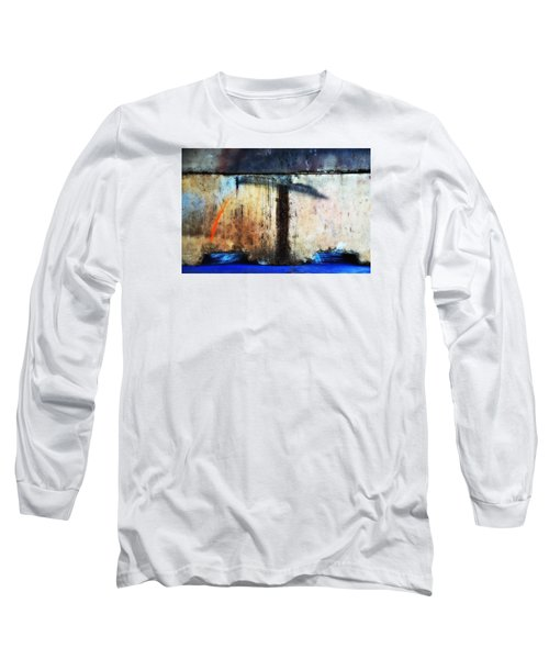 Long Sleeve T-Shirt featuring the photograph Heavy Wait by Newel Hunter