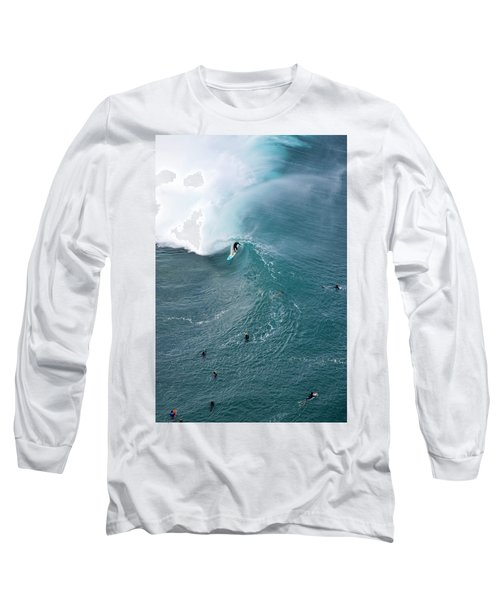 Tubed From Above. Long Sleeve T-Shirt