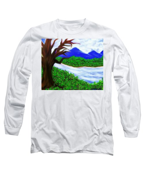 Hello Spring Time Long Sleeve T-Shirt