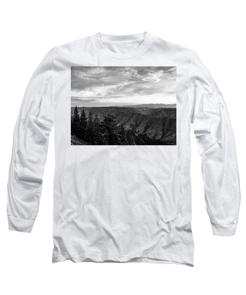 Hells Canyon Drama Long Sleeve T-Shirt