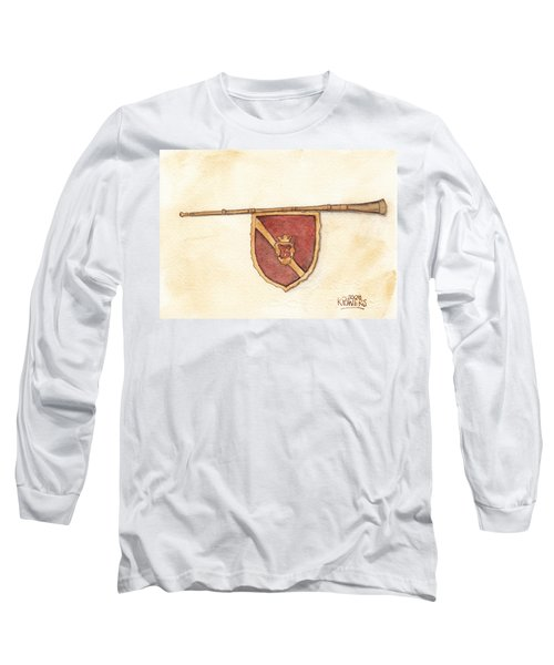 Heraldry Trumpet Long Sleeve T-Shirt