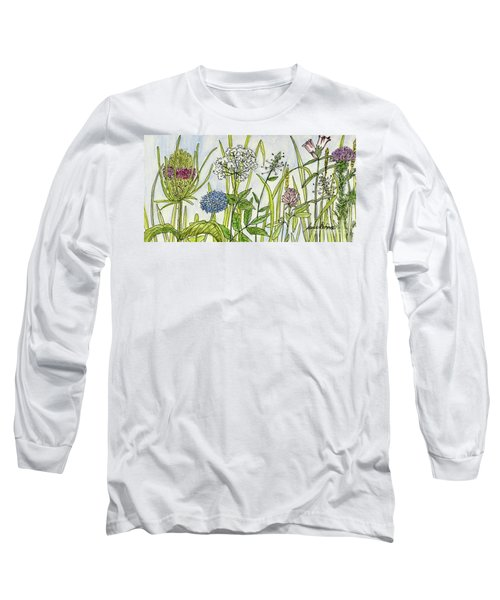 Herbs And Flowers Long Sleeve T-Shirt