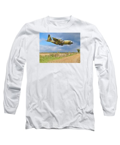 Hercules Xv222 Long Sleeve T-Shirt by Paul Gulliver