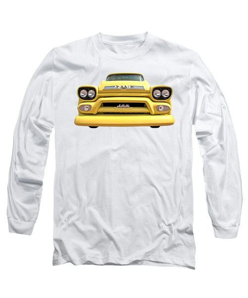 Here Comes The Sun - Gmc 100 Pickup 1958 Long Sleeve T-Shirt