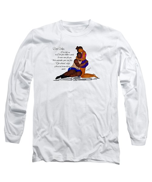 Here For You Long Sleeve T-Shirt by Diamin Nicole