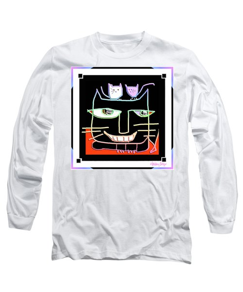 Here,  Kitty Kitty Long Sleeve T-Shirt