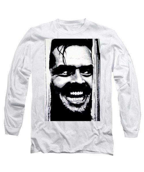 Heres Johnny Long Sleeve T-Shirt