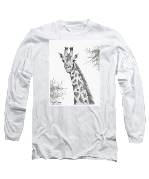 Here's Looking At You Long Sleeve T-Shirt by Phyllis Howard