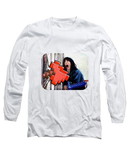 Heres Minecraft  Long Sleeve T-Shirt