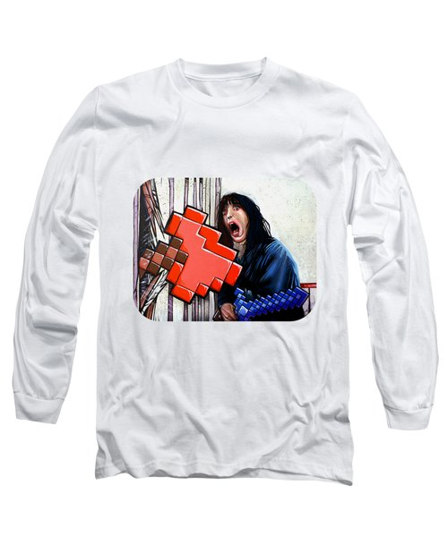 Heres Minecraft  Long Sleeve T-Shirt