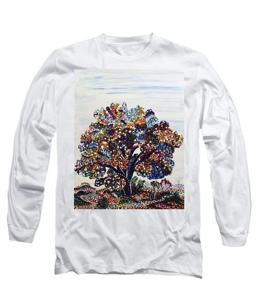 Heritage Long Sleeve T-Shirt by Erika Pochybova