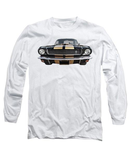 Hertz Rent A Racer Mustang 1966 Long Sleeve T-Shirt by Gill Billington