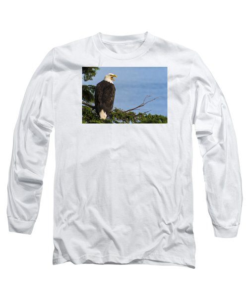 Long Sleeve T-Shirt featuring the photograph Hey by Gary Lengyel