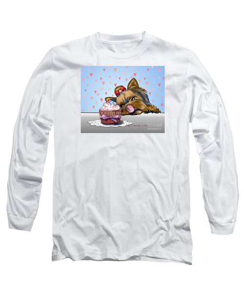 Hey There Cupcake Long Sleeve T-Shirt by Catia Cho
