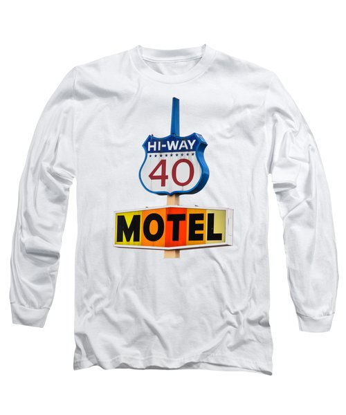 Hi-way 40 Motel Long Sleeve T-Shirt