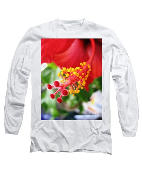 Hibiscus #3 Long Sleeve T-Shirt