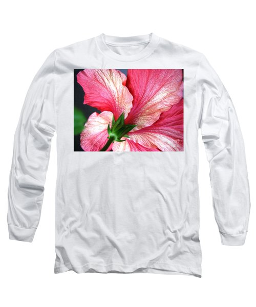 Hibiscus #5 Long Sleeve T-Shirt