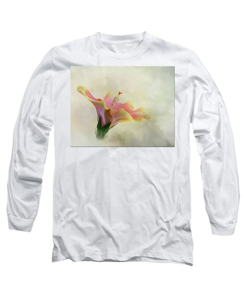 Hibiscus Art Long Sleeve T-Shirt