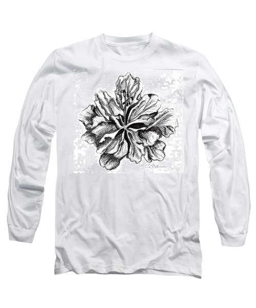 Hibiscus Bloom Long Sleeve T-Shirt