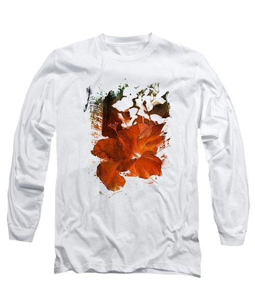 Hibiscus S D Z 2 Long Sleeve T-Shirt