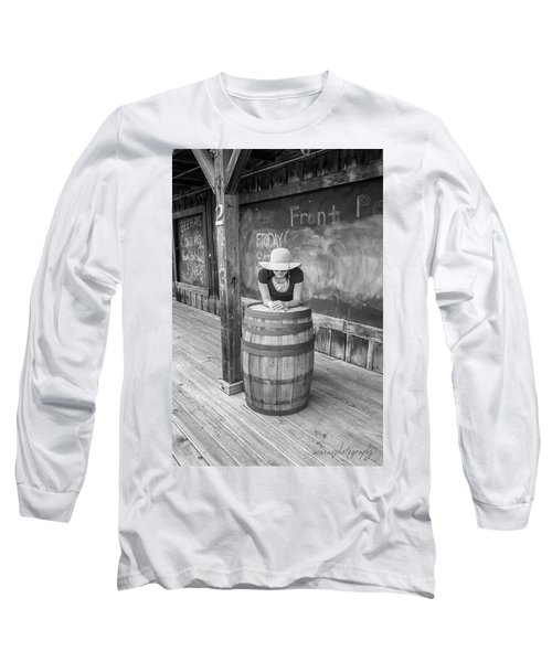 Hidden Face Long Sleeve T-Shirt