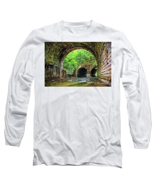 Hidden Gem Long Sleeve T-Shirt by Jim Lepard