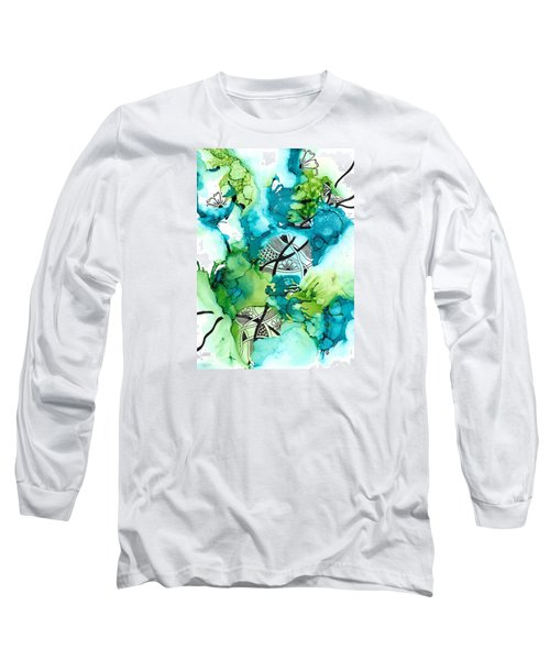 Hidden Treasure Long Sleeve T-Shirt by Jan Steinle
