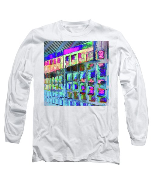 Long Sleeve T-Shirt featuring the digital art Hide And Seek by Wendy J St Christopher