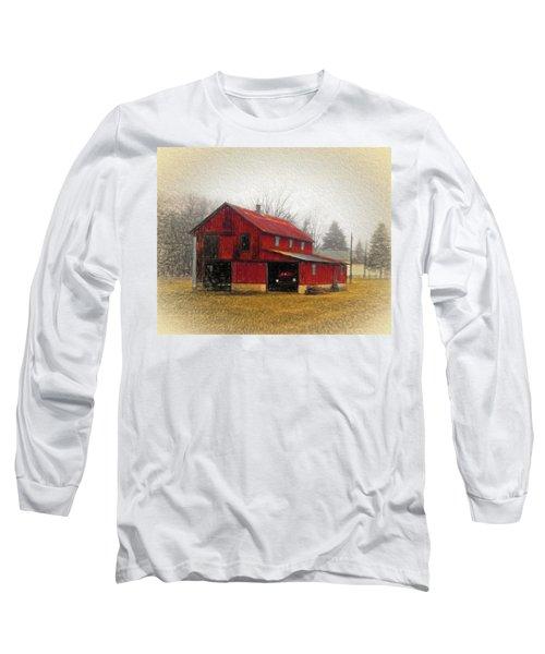 Hide Away Long Sleeve T-Shirt