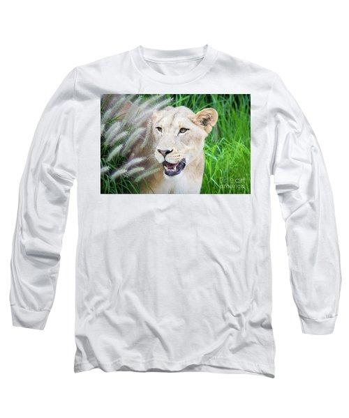 Hiding In Grass Long Sleeve T-Shirt