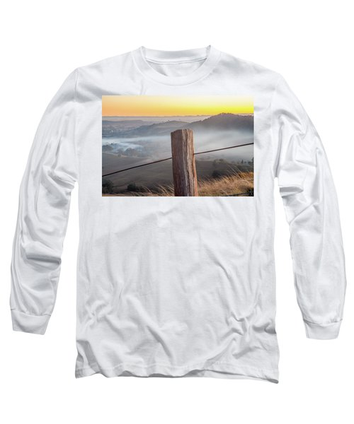 Long Sleeve T-Shirt featuring the photograph High Country by Az Jackson