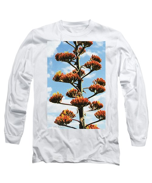High Country Red Bud Agave Long Sleeve T-Shirt