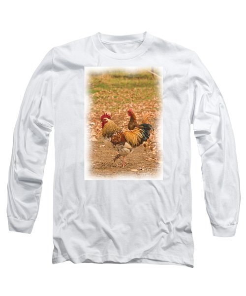 High Stepping Rooster Long Sleeve T-Shirt