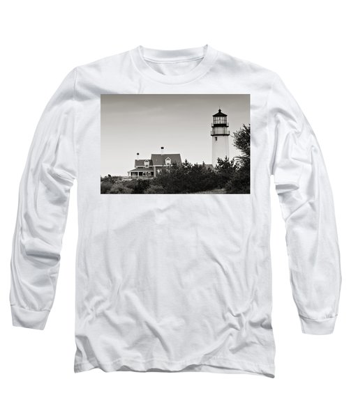 Highland Light At Cape Cod Long Sleeve T-Shirt