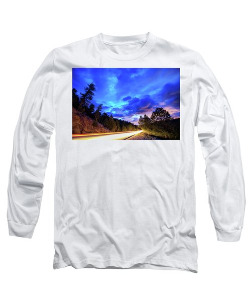 Long Sleeve T-Shirt featuring the photograph Highway 7 To Heaven by James BO Insogna