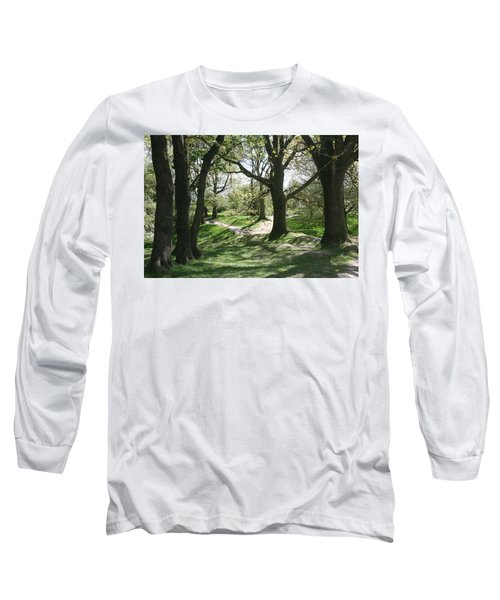 Hill 60 Cratered Landscape Long Sleeve T-Shirt