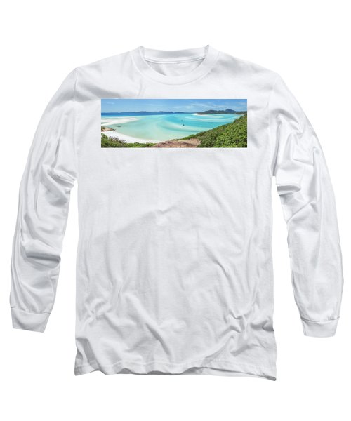 Hill Inlet Lookout Long Sleeve T-Shirt by Az Jackson