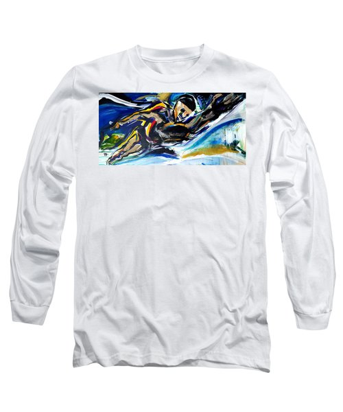 Him Swim Long Sleeve T-Shirt