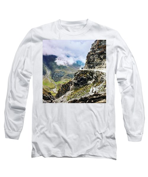 Himalayan Roads Are Good For Your Long Sleeve T-Shirt