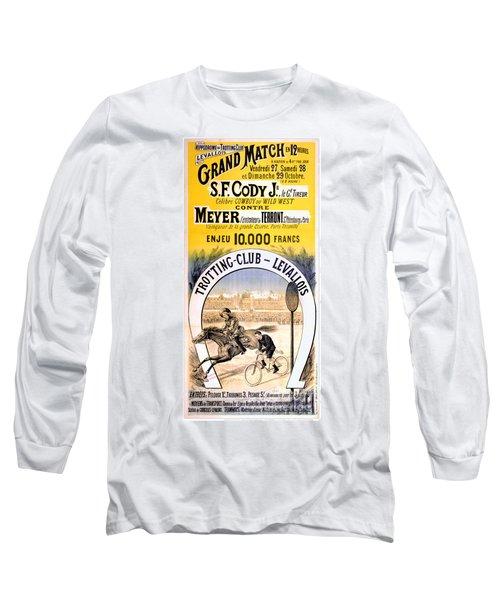 Hippodrome Du Trotting Club Levallois Long Sleeve T-Shirt