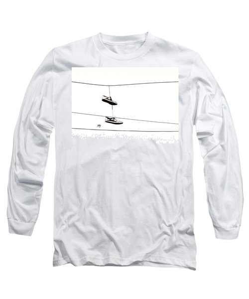 Long Sleeve T-Shirt featuring the photograph His by Linda Hollis