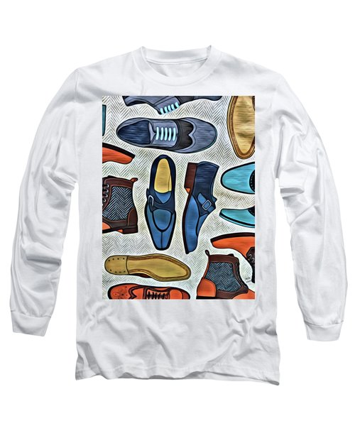 His Shoes Long Sleeve T-Shirt