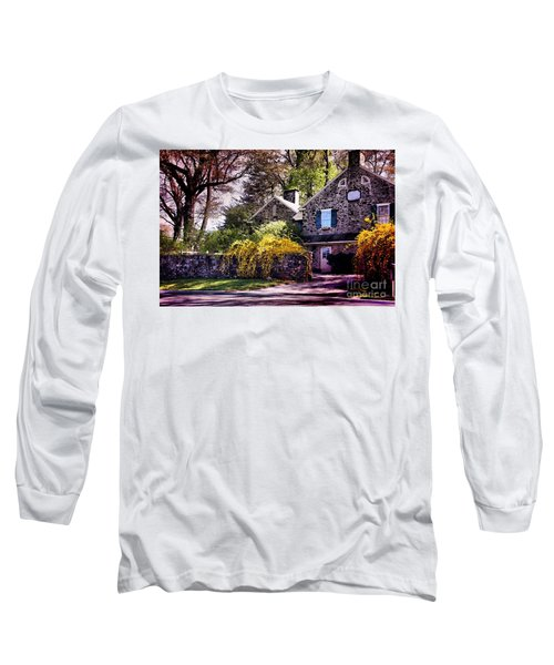Historic 1889 Home Long Sleeve T-Shirt by Polly Peacock