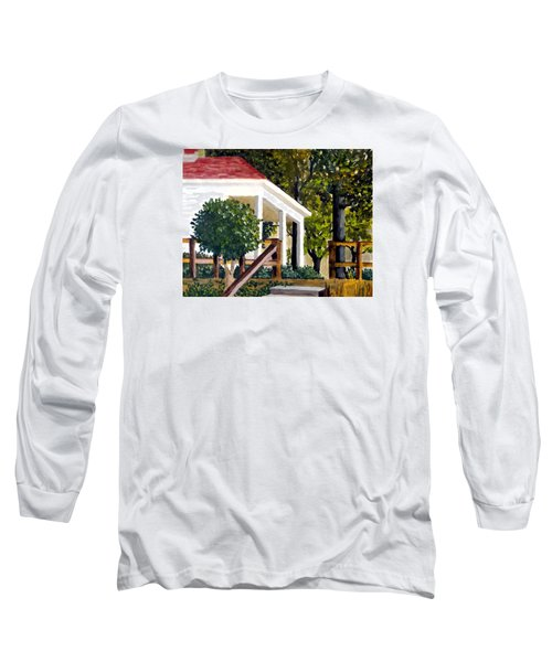 Long Sleeve T-Shirt featuring the painting History Still Stands by Jim Phillips